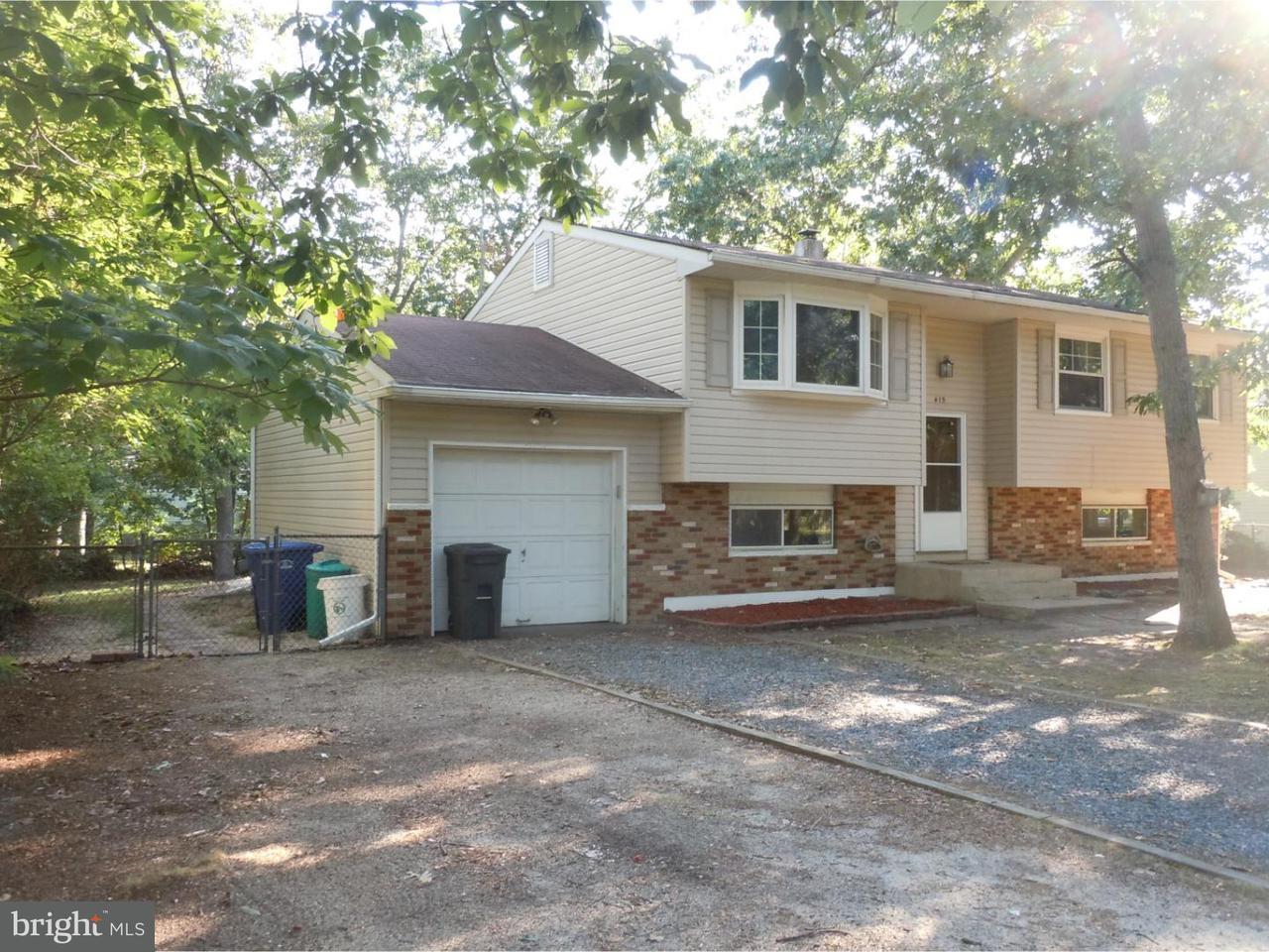 Maison unifamiliale pour l à louer à 415 FLORIDA Trail Browns Mills, New Jersey 08015 États-Unis