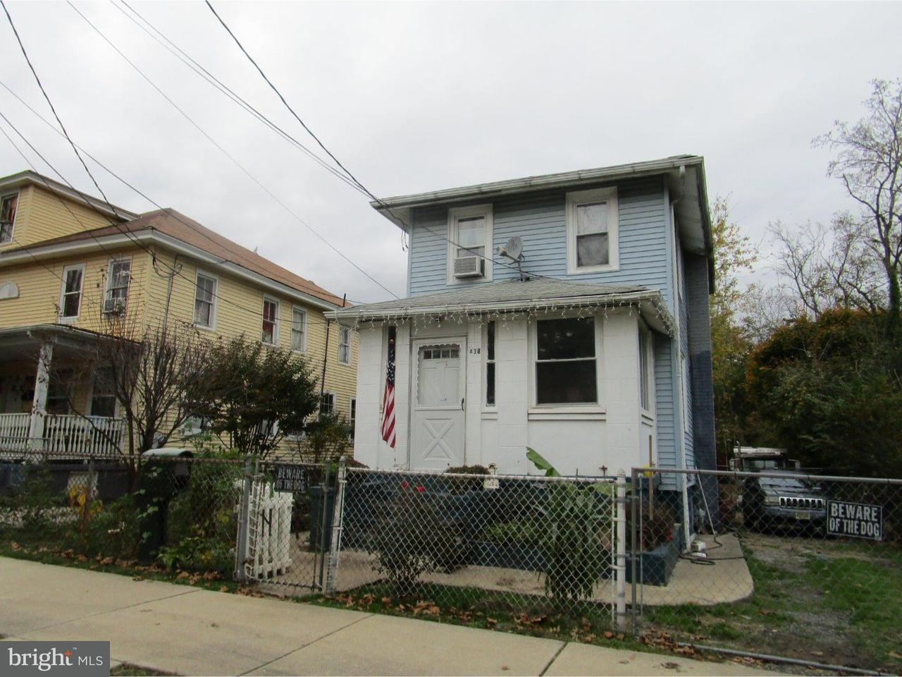 Single Family Home for Sale at 438 W CHERRY Street Vineland, New Jersey 08360 United States