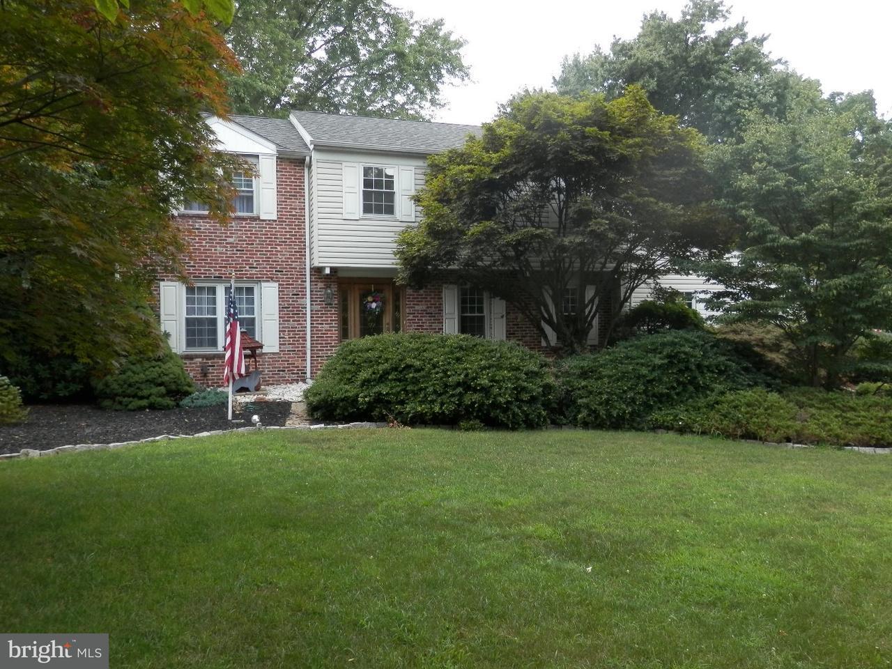 Maison unifamiliale pour l Vente à 80 COLONIAL Circle Thornton, Pennsylvanie 19373 États-Unis