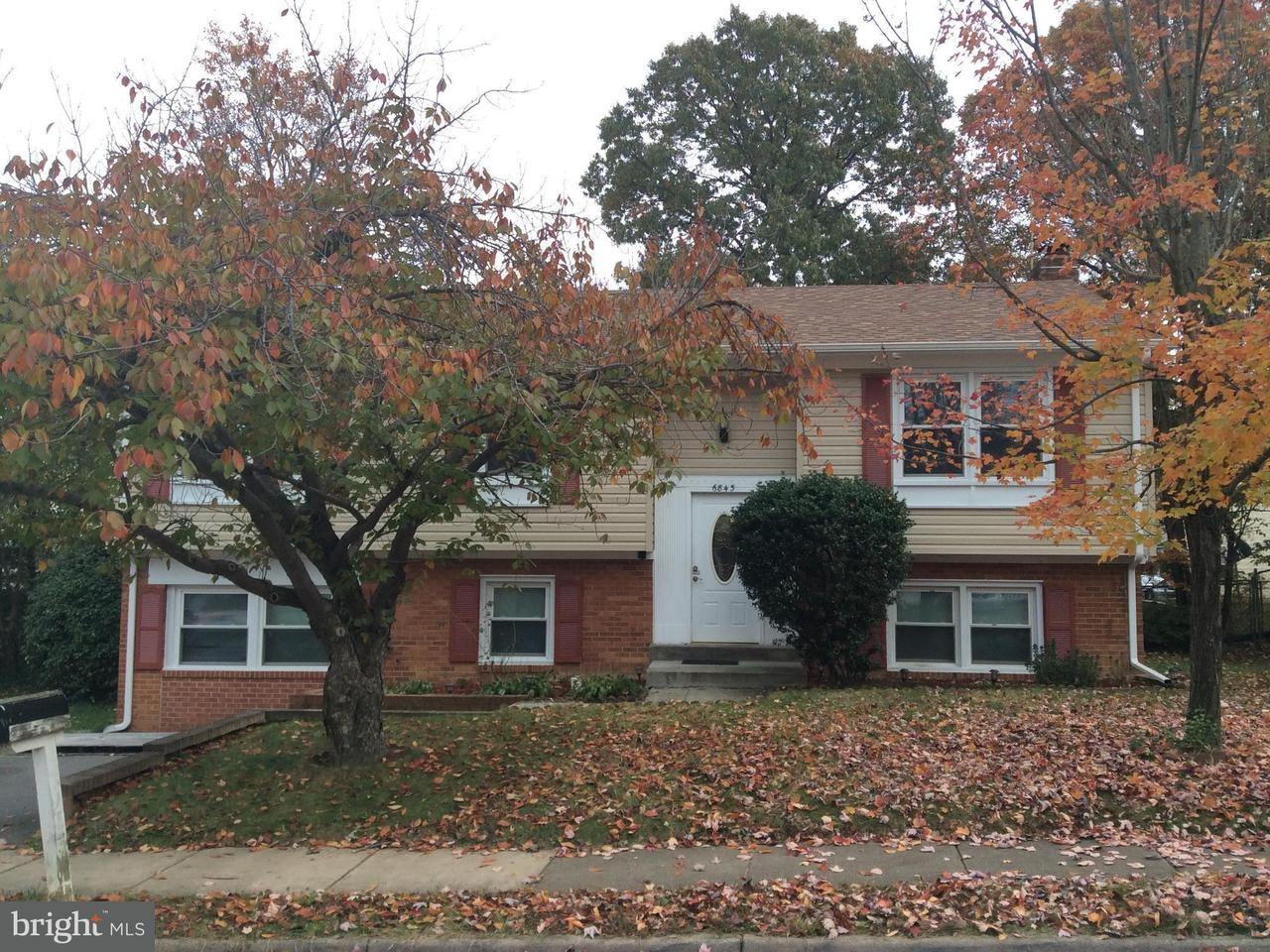 Single Family Home for Sale at 6843 BEN FRANKLIN Road 6843 BEN FRANKLIN Road Springfield, Virginia 22150 United States