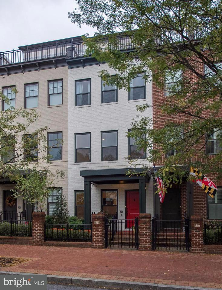 Townhouse for Sale at 235 WEST Street 235 WEST Street Annapolis, Maryland 21401 United States