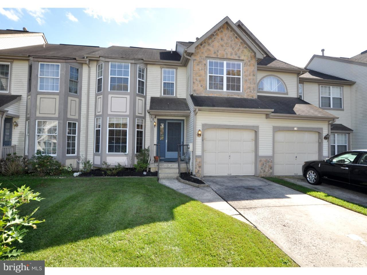 Townhouse for Sale at 112 SANDHURST Drive Mount Laurel, New Jersey 08054 United States