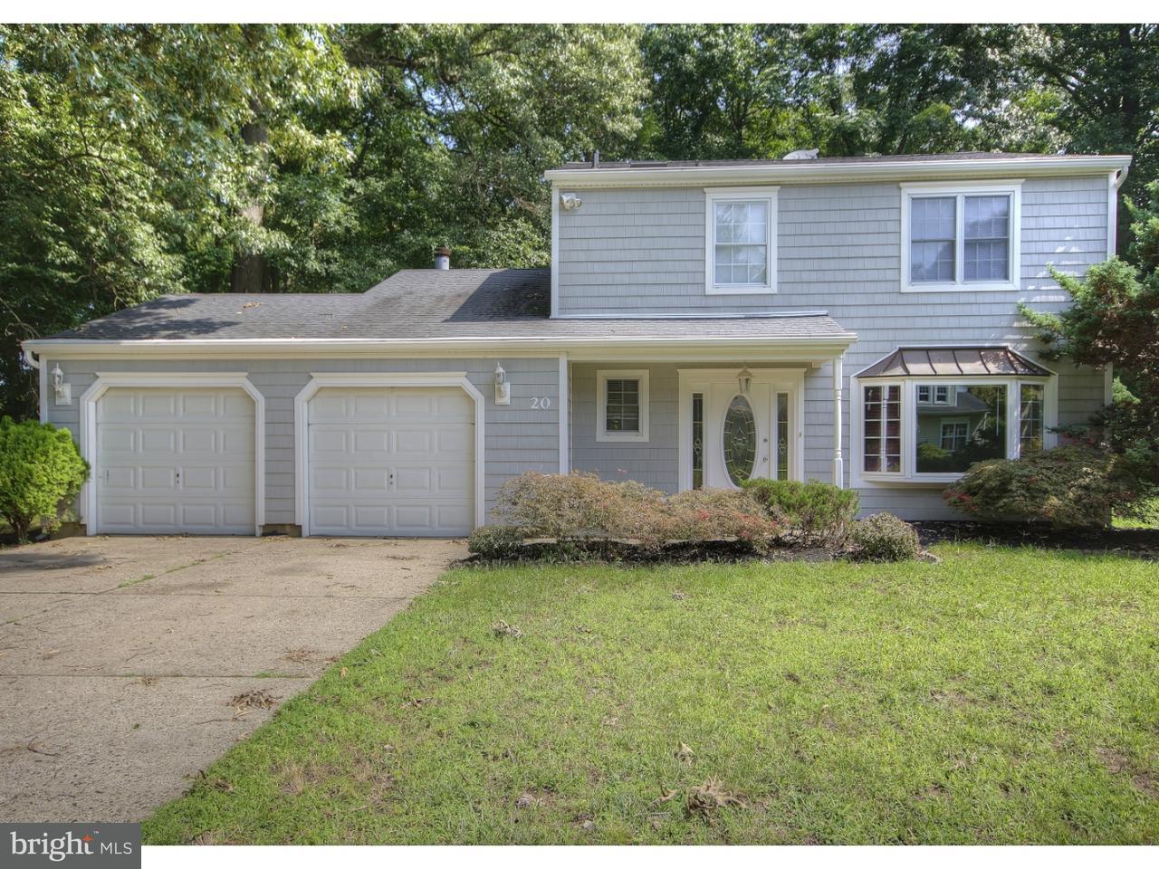 Maison unifamiliale pour l Vente à 20 TALL TIMBER Lane Florence, New Jersey 08016 États-Unis