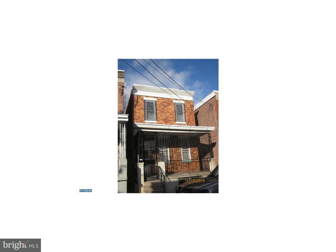Maison unifamiliale pour l à louer à 1217 THURMAN Street Camden, New Jersey 08104 États-Unis