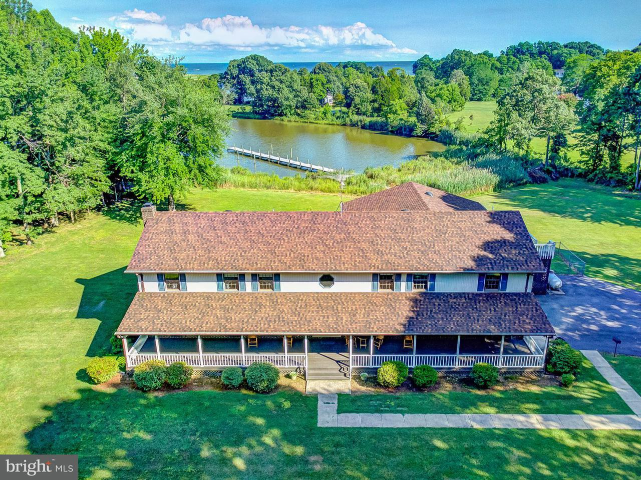 Maison unifamiliale pour l Vente à 5966 TYLER Road 5966 TYLER Road Deale, Maryland 20751 États-Unis