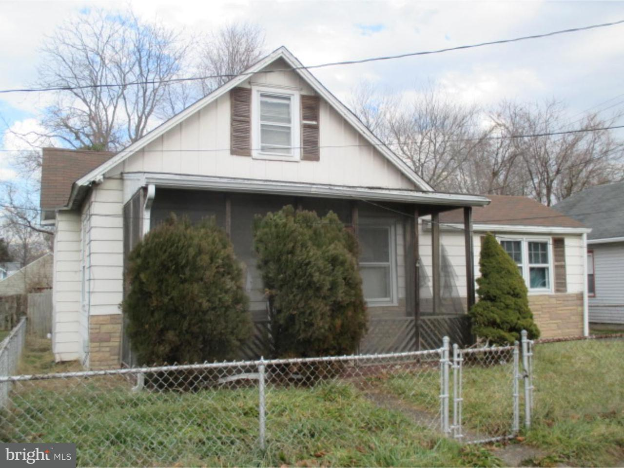 Single Family Home for Rent at 16 BROAD Street Deepwater, New Jersey 08023 United States