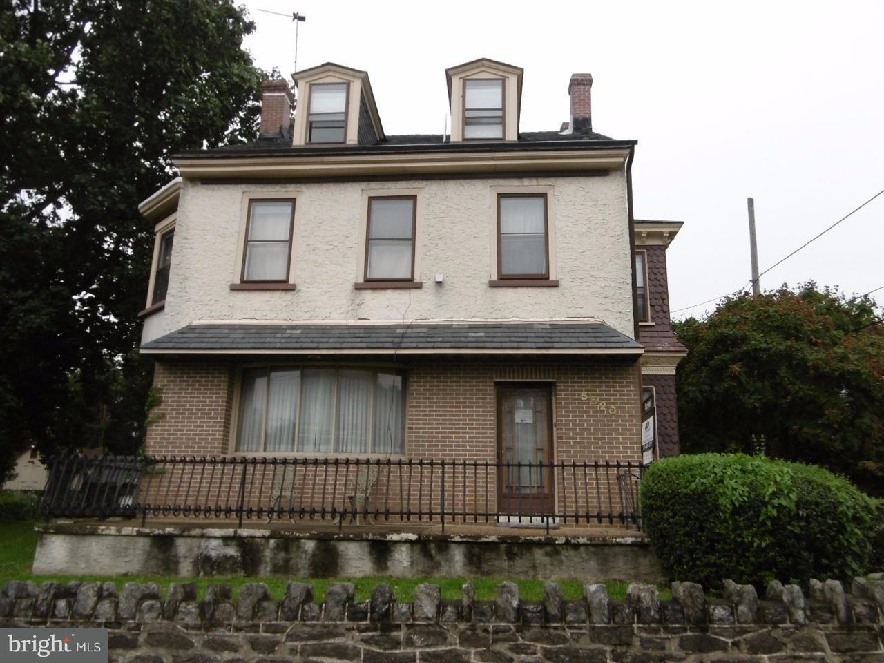 独户住宅 为 出租 在 5520 RIDGE Avenue 费城, 宾夕法尼亚州 19128 美国