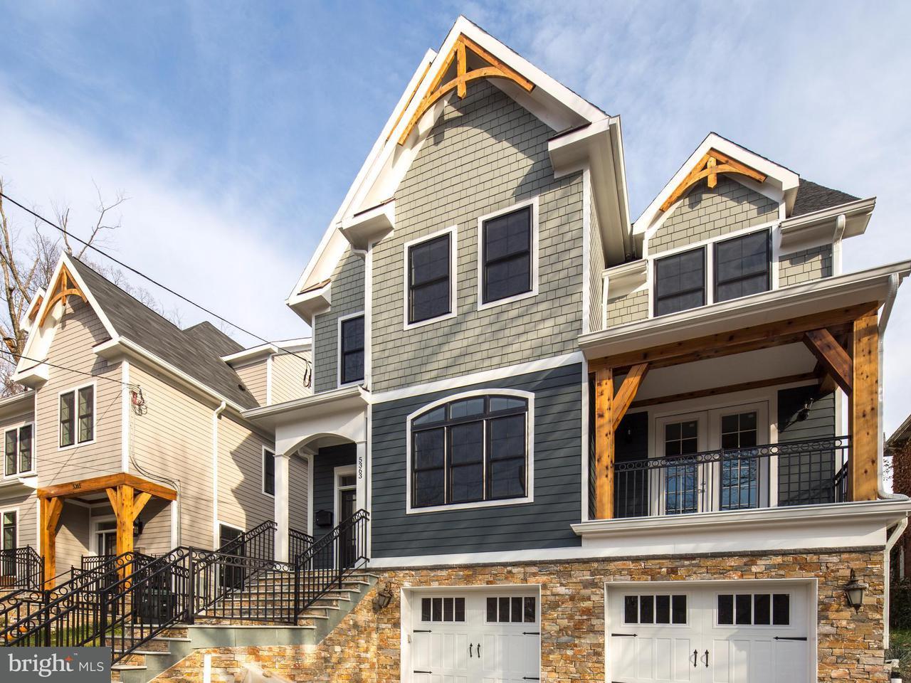 Частный односемейный дом для того Продажа на 5363 29TH ST NW 5363 29TH ST NW Washington, Округ Колумбия 20015 Соединенные Штаты