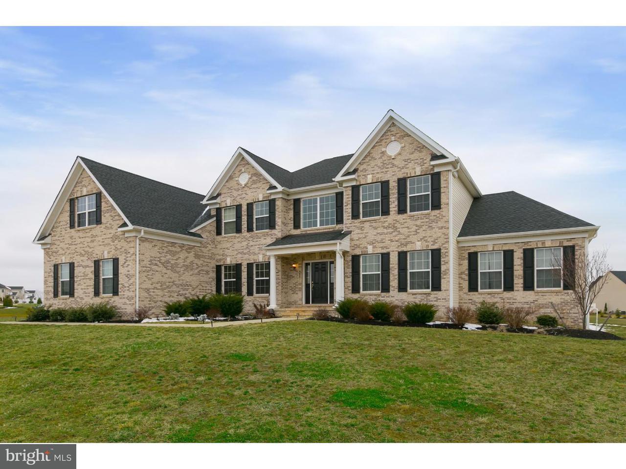 Частный односемейный дом для того Продажа на 403 CATTAIL Court Mullica Hill, Нью-Джерси 08062 Соединенные Штаты