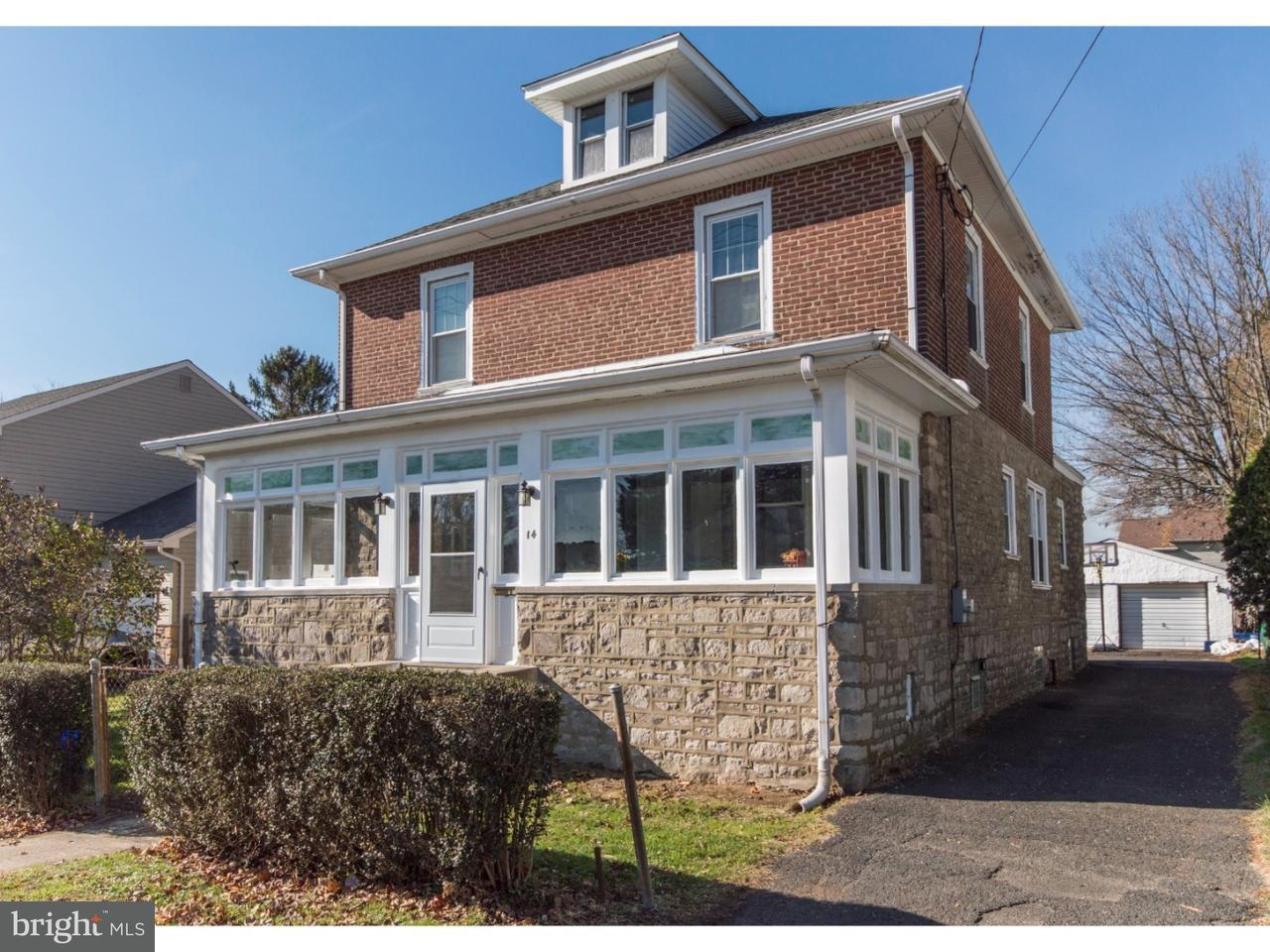Single Family Home for Sale at 14 DALLAS Road Willow Grove, Pennsylvania 19090 United States