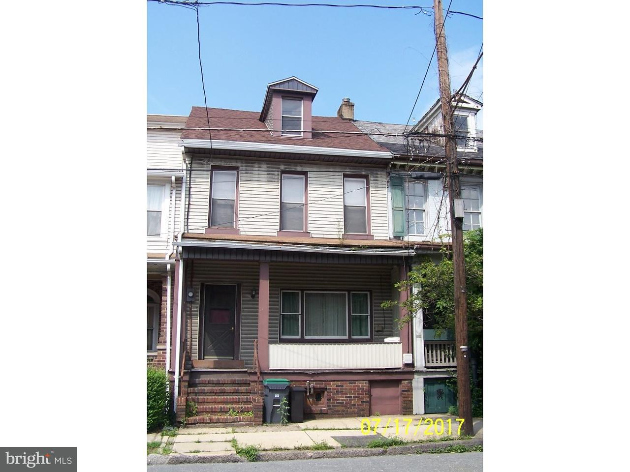 Townhouse for Sale at 316 PINE Street Tamaqua, Pennsylvania 18252 United States