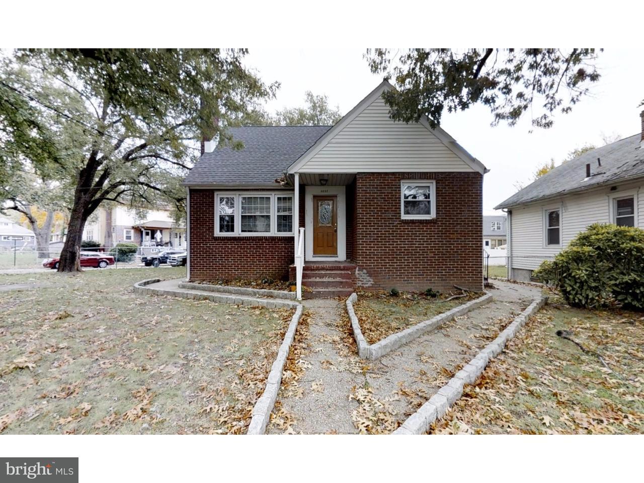 Single Family Home for Rent at 4602 HARDING Road Pennsauken, New Jersey 08109 United States