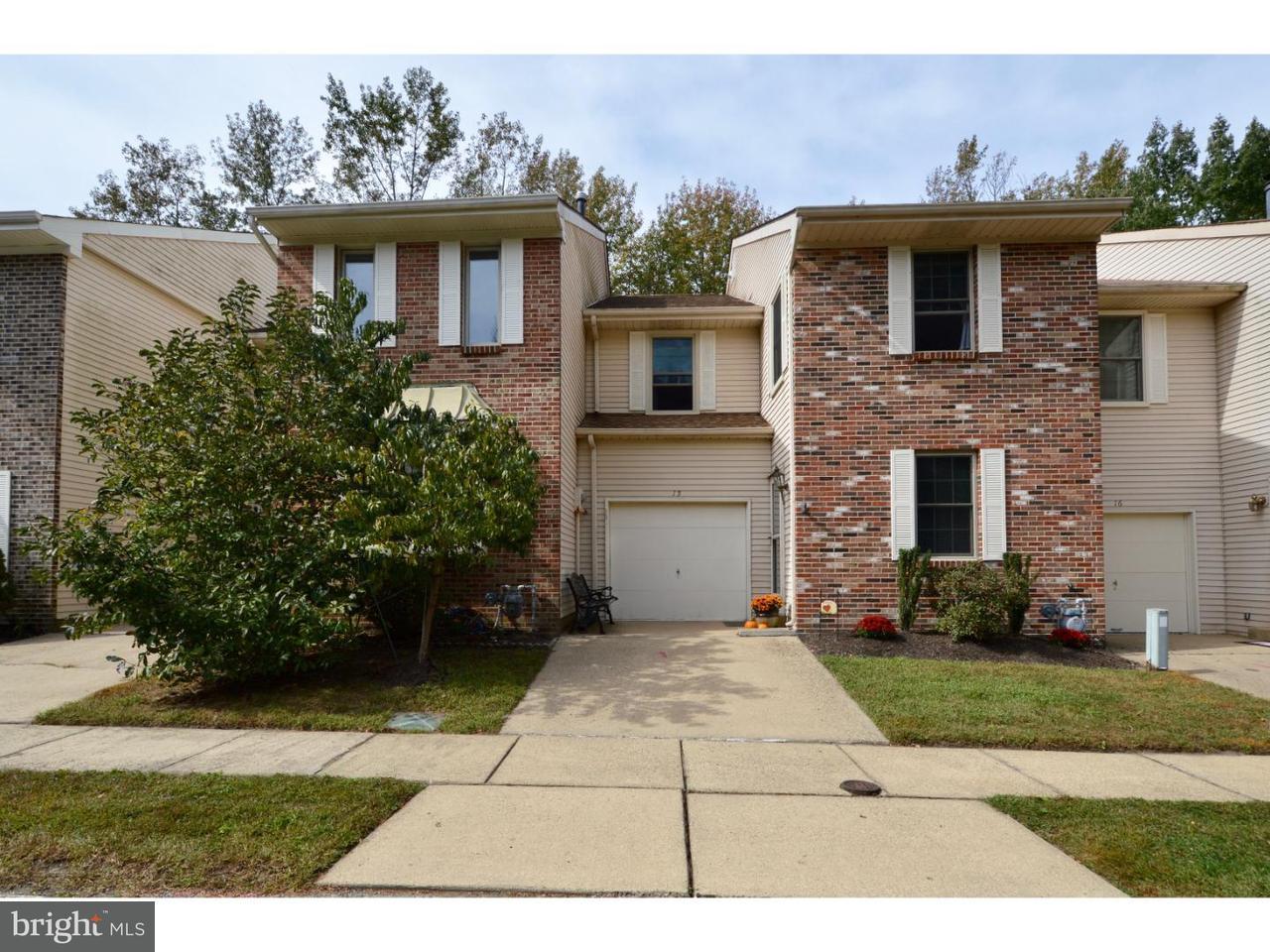 Casa unifamiliar adosada (Townhouse) por un Venta en 15 REGENT Court Medford, Nueva Jersey 08055 Estados Unidos