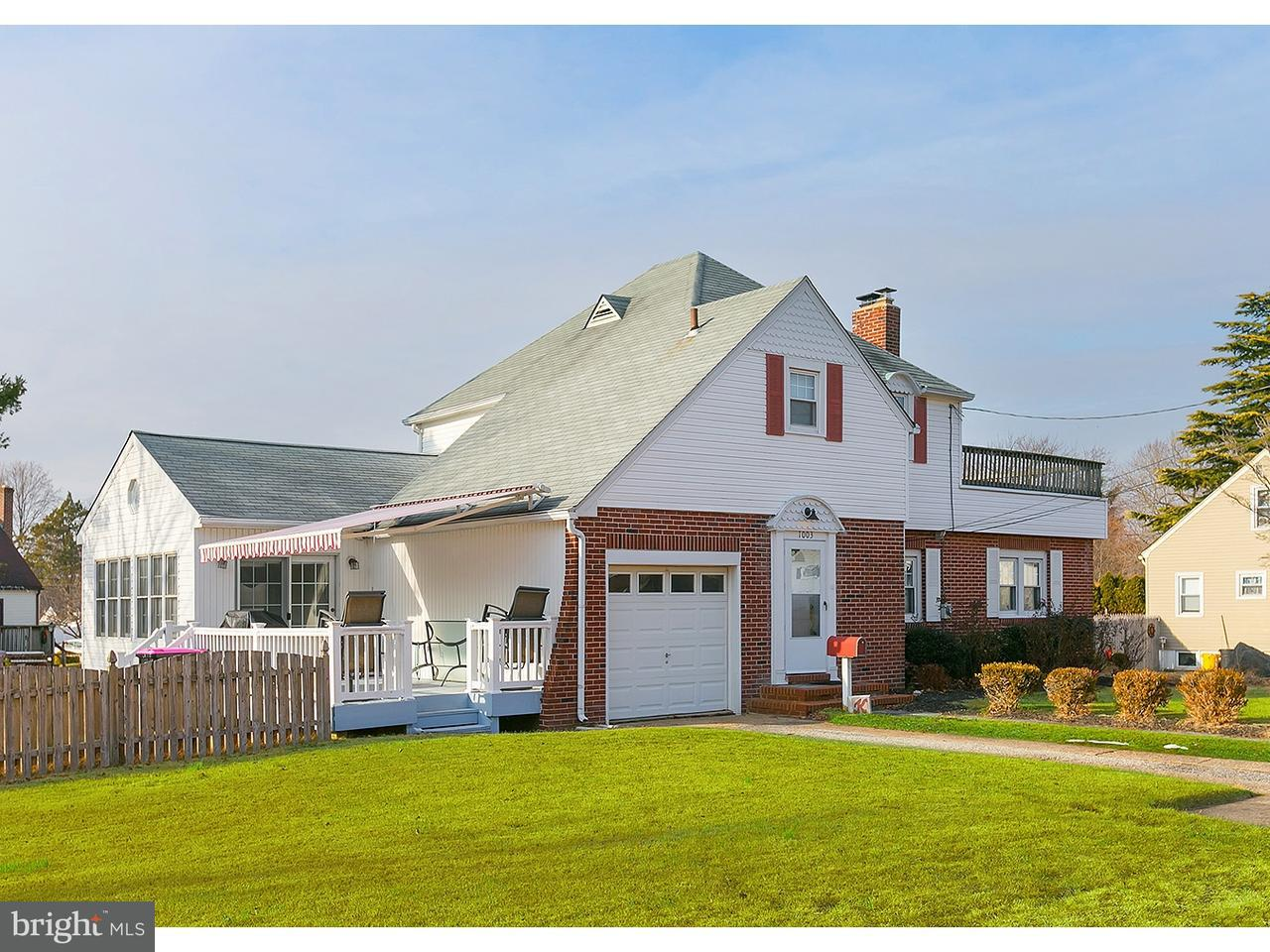Частный односемейный дом для того Продажа на 1003 WOODLAND Avenue Glendora, Нью-Джерси 08029 Соединенные Штаты