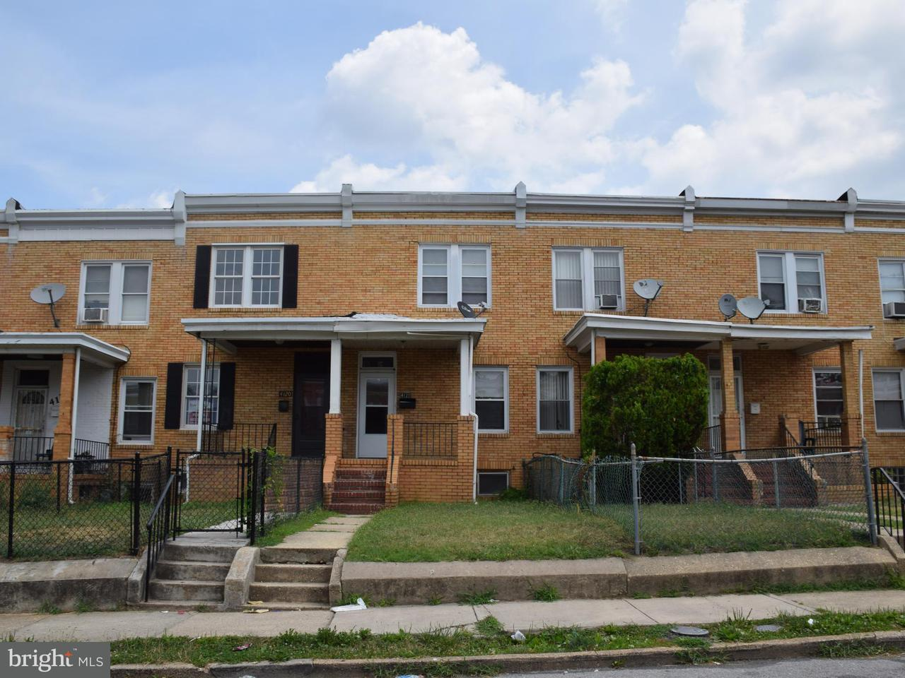 Single Family for Sale at 4122 Eierman Ave Baltimore, Maryland 21206 United States