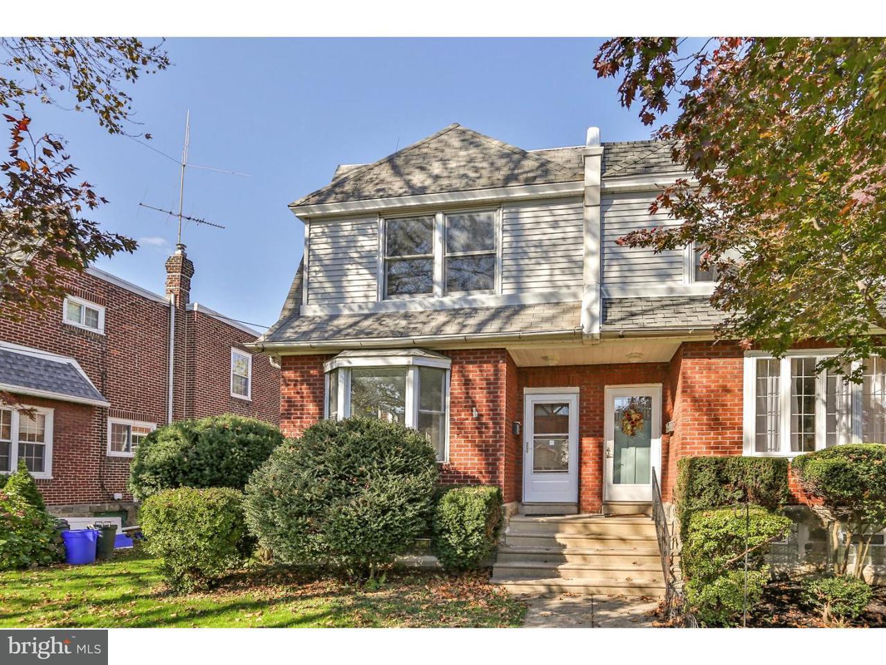 联栋屋 为 销售 在 723 16TH Avenue Prospect Park, 宾夕法尼亚州 19076 美国