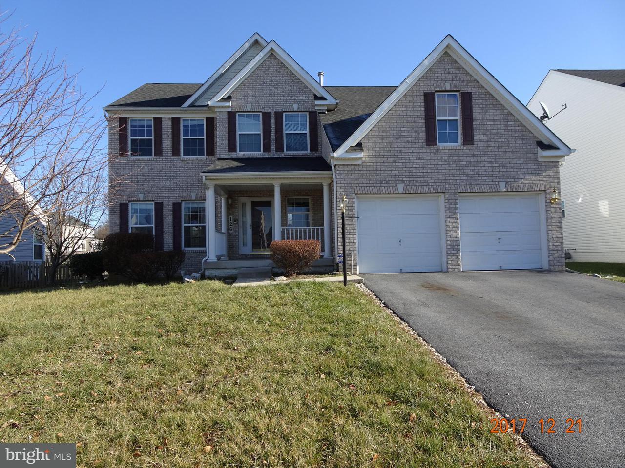 Μονοκατοικία για την Πώληση στο 126 GREENWICH Drive 126 GREENWICH Drive Walkersville, Μεριλαντ 21793 Ηνωμενεσ Πολιτειεσ