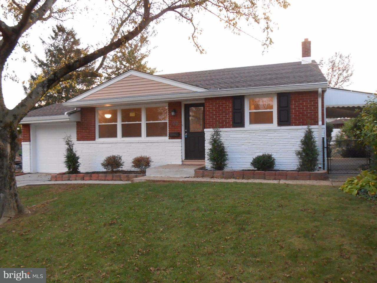 Частный односемейный дом для того Продажа на 146 CARDINAL Drive Bellmawr, Нью-Джерси 08031 Соединенные Штаты