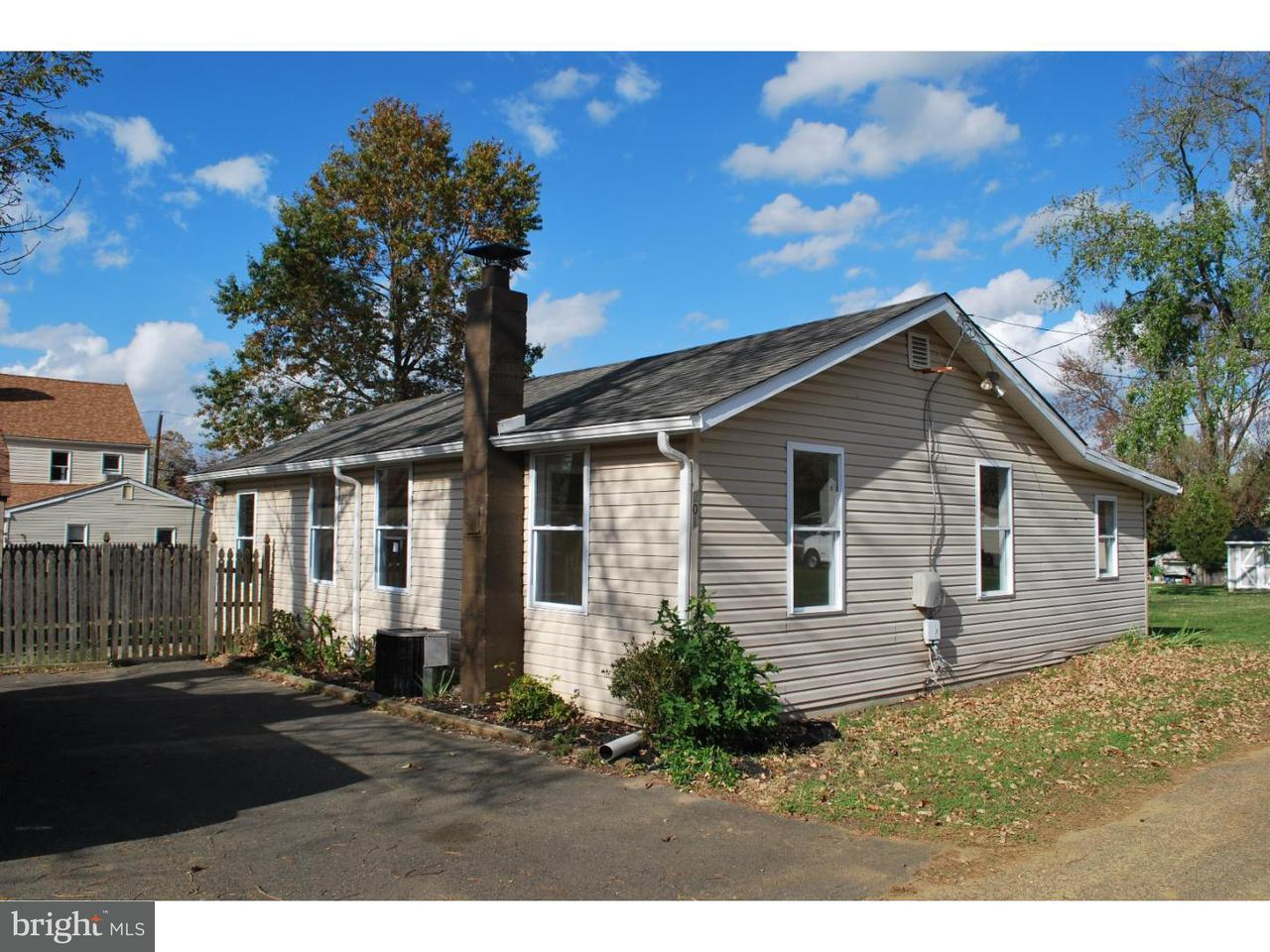 Single Family Home for Sale at 201 LYONS Lane Fieldsboro, New Jersey 08505 United States