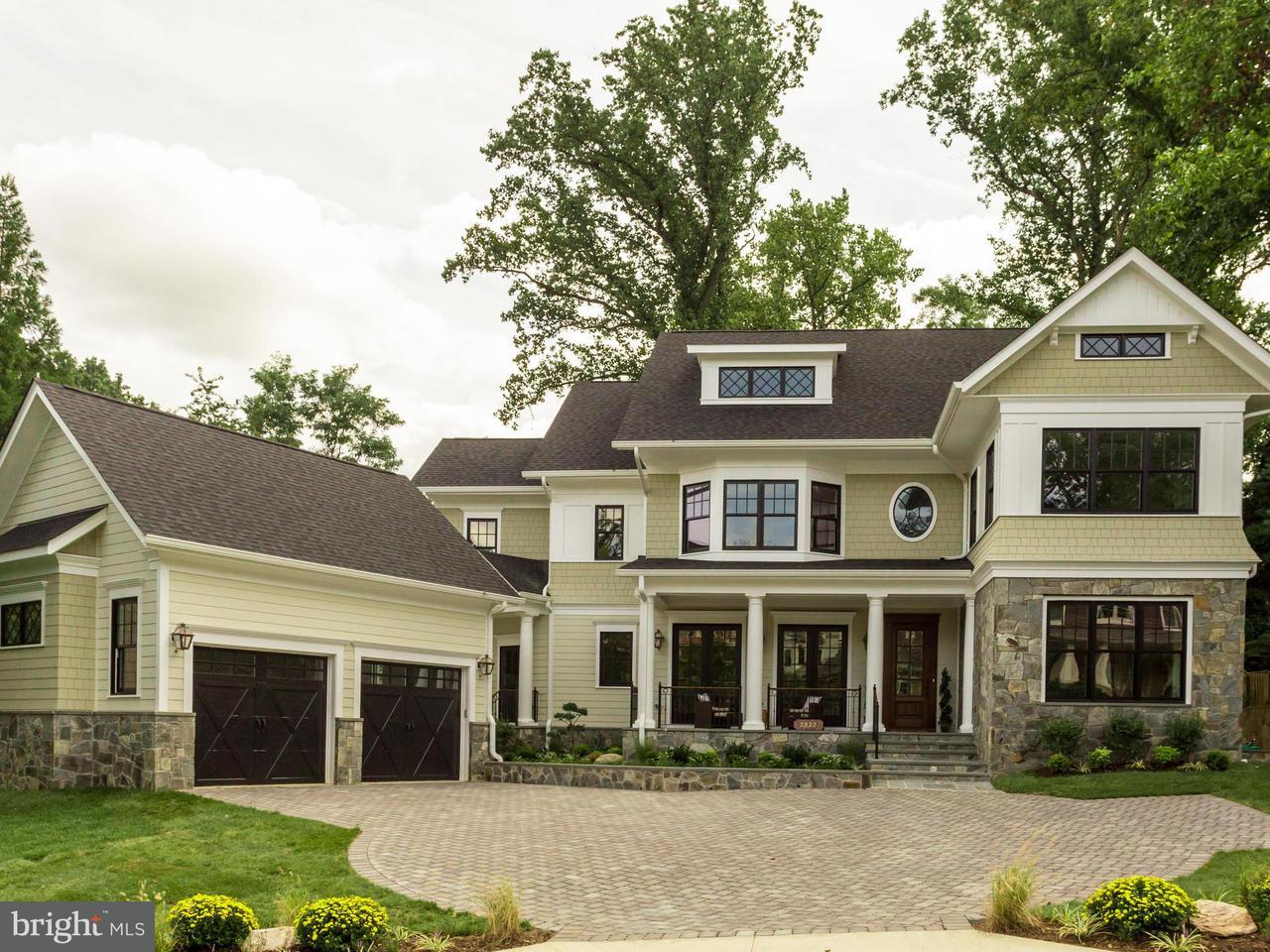 Частный односемейный дом для того Продажа на 2822 23RD RD N 2822 23RD RD N Arlington, Виргиния 22201 Соединенные Штаты