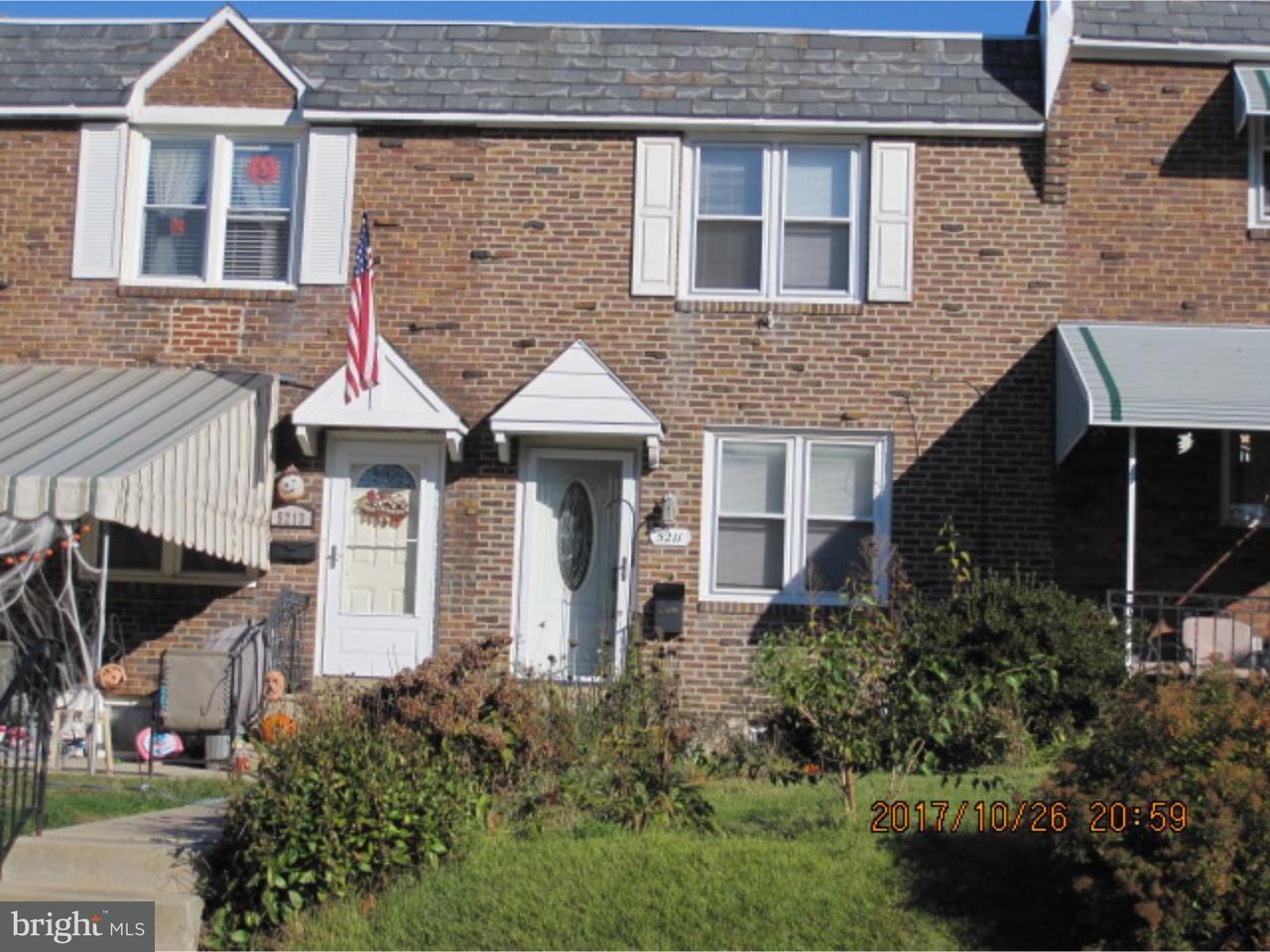联栋屋 为 出租 在 5211 WESTBROOK Drive Clifton Heights, 宾夕法尼亚州 19018 美国