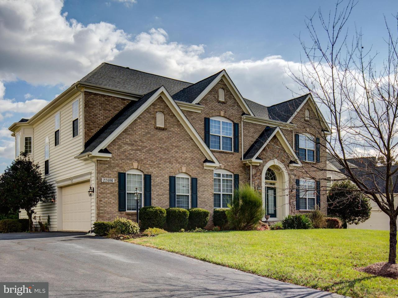 Single Family Home for Sale at 22406 DOLOMITE HILLS Drive 22406 DOLOMITE HILLS Drive Ashburn, Virginia 20148 United States