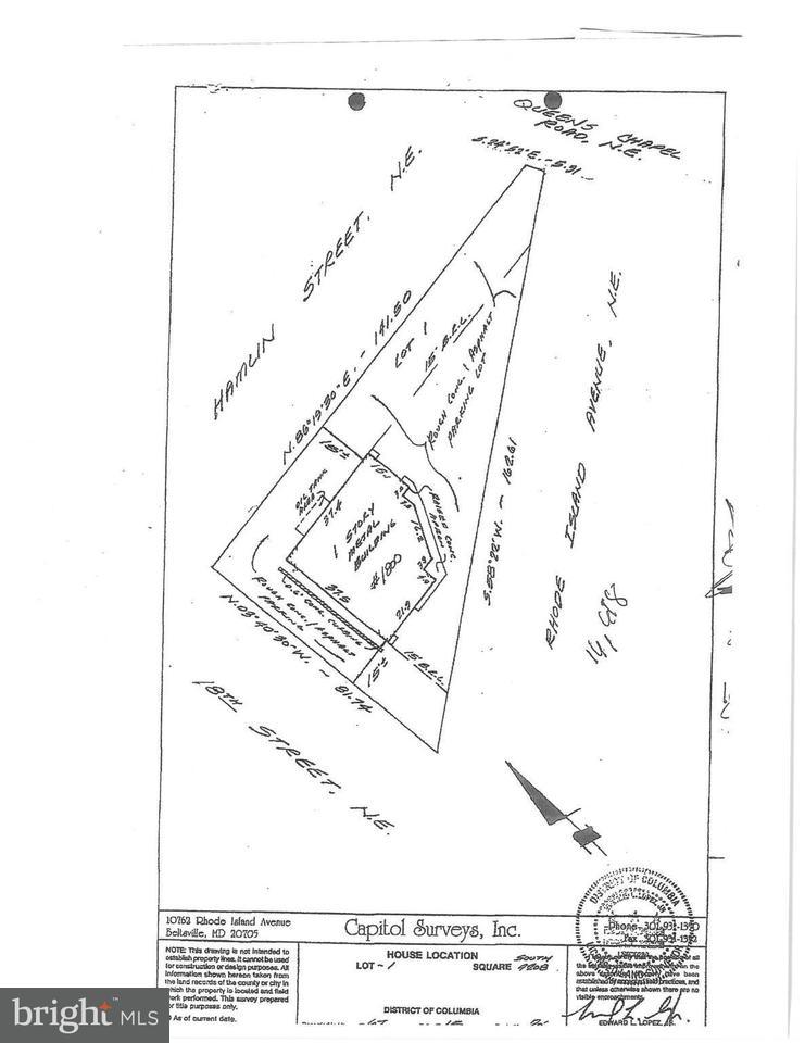 Land für Verkauf beim 1800 Rhode Island Ave Ne 1800 Rhode Island Ave Ne Washington, District Of Columbia 20018 Vereinigte Staaten