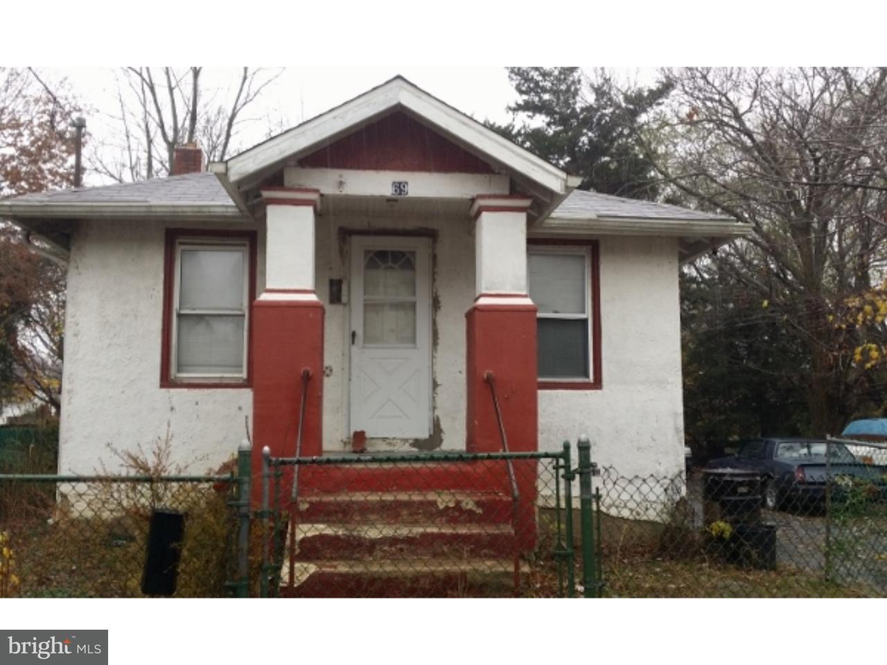 Maison unifamiliale pour l à louer à 69 THOMPSON Street Salem, New Jersey 08079 États-Unis