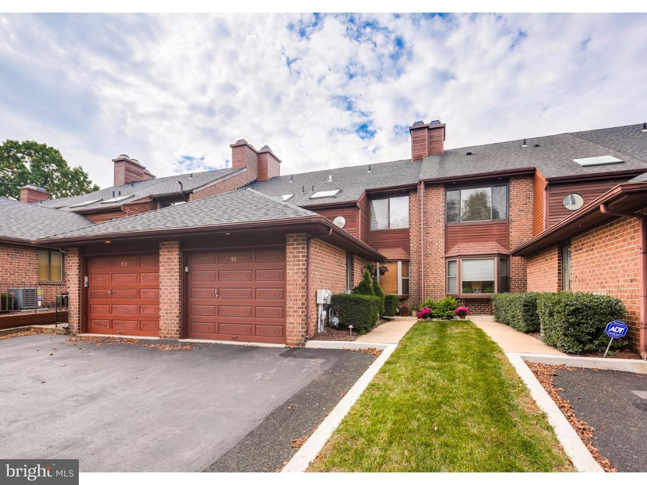 Condominium for Sale at 93 TIMOTHY Circle Radnor, Pennsylvania 19087 United States