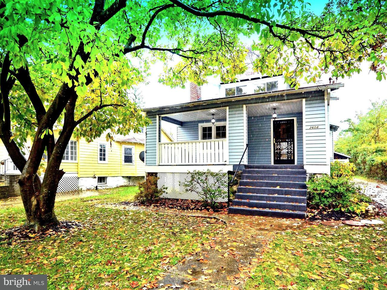 Single Family for Sale at 2608 Chelsea Ter Baltimore, Maryland 21216 United States