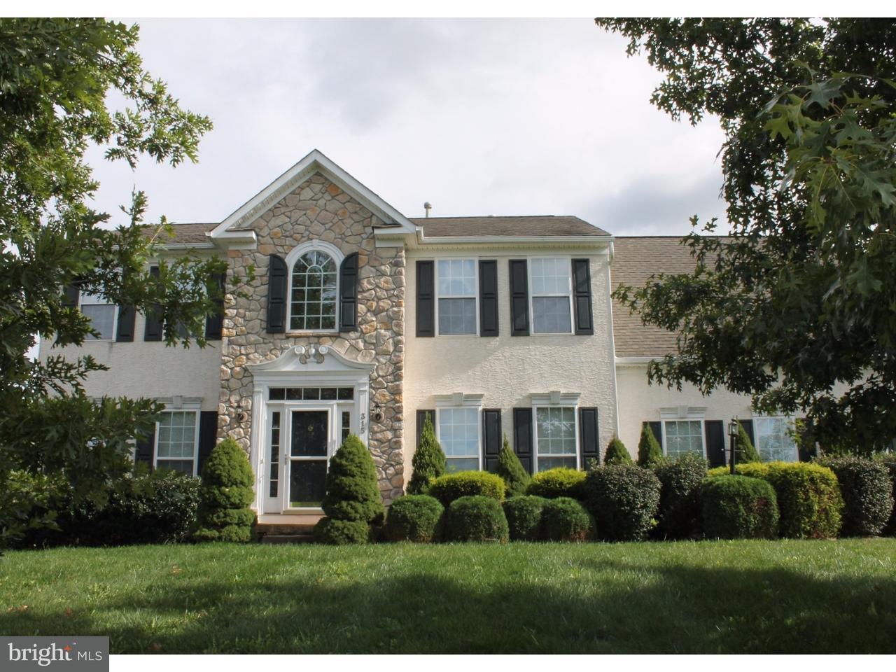 Maison unifamiliale pour l Vente à 315 WINCHESTER Lane West Grove, Pennsylvanie 19390 États-Unis
