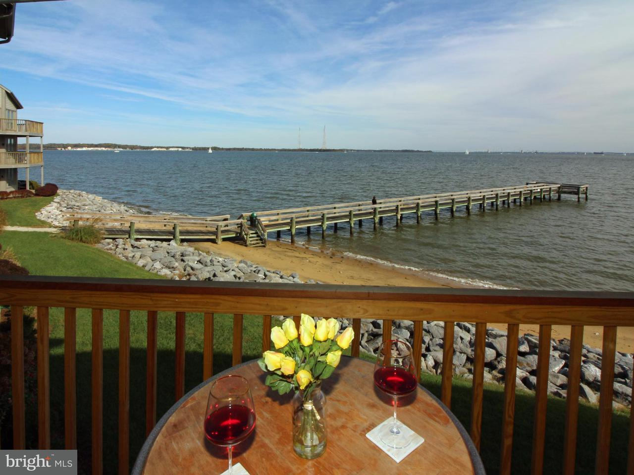 Townhouse for Sale at 2129 BEACH VILLAGE CT #102 2129 BEACH VILLAGE CT #102 Annapolis, Maryland 21403 United States