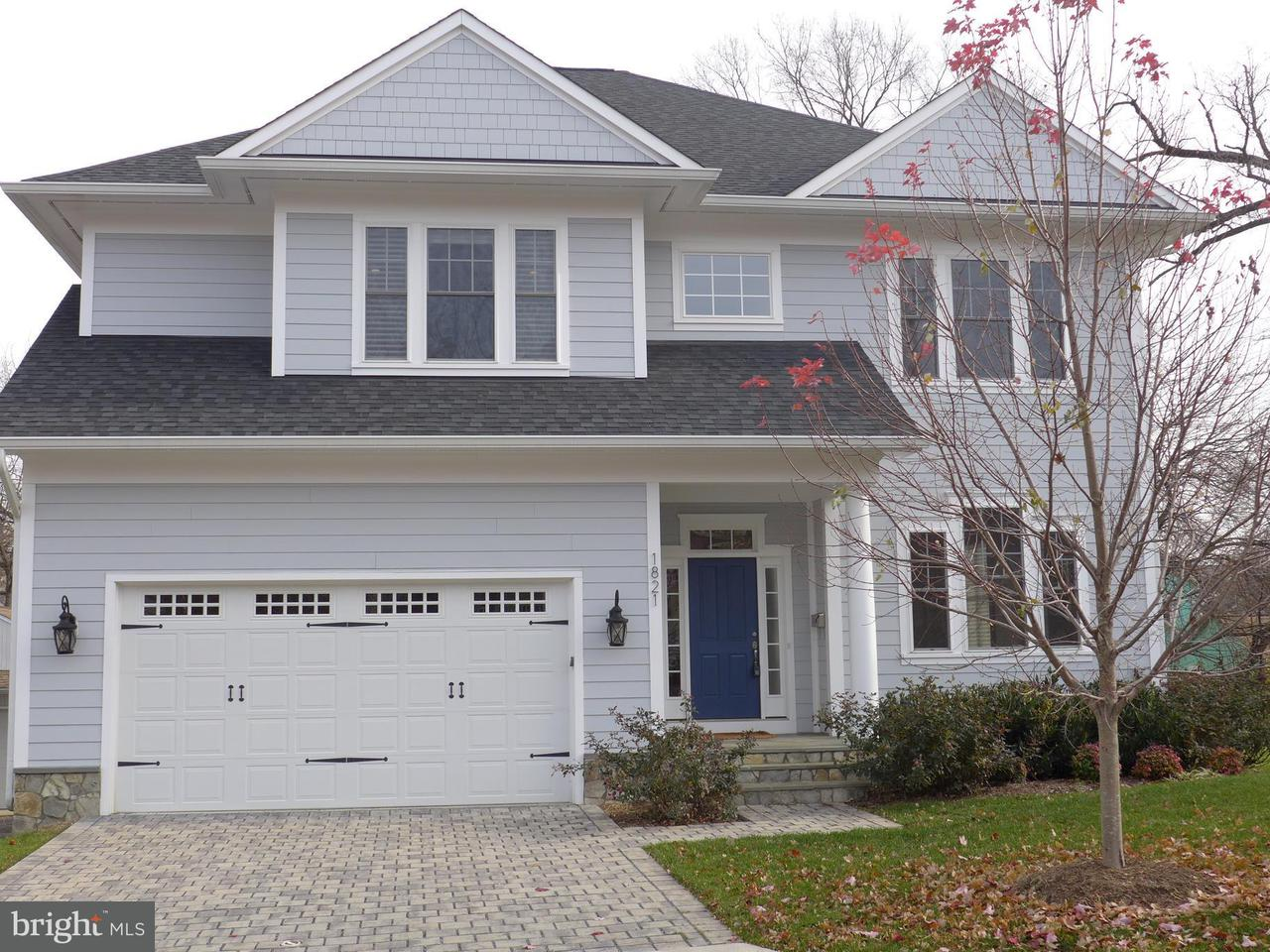 Single Family Home for Sale at 1821 OAKLAND ST N 1821 OAKLAND ST N Arlington, Virginia 22207 United States