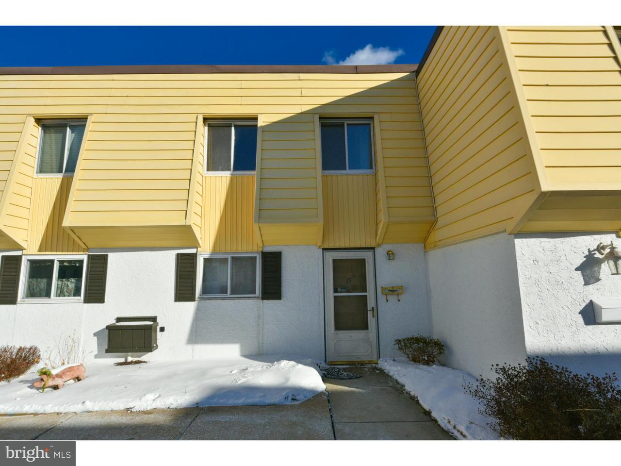Townhouse for Rent at 15 S FORDS EDGE Royersford, Pennsylvania 19468 United States