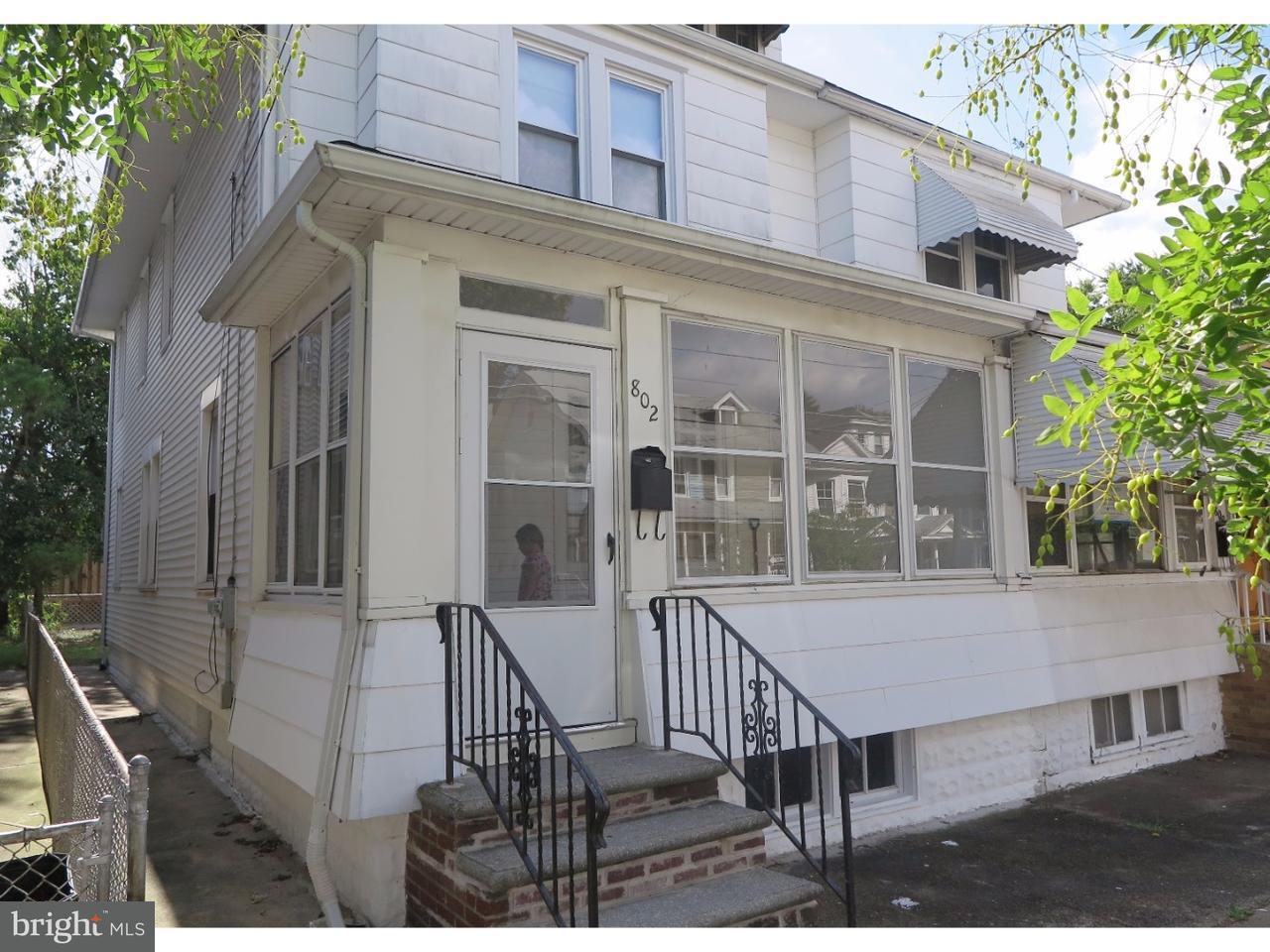 Maison accolée pour l à louer à 802 HUNTER Street Gloucester City, New Jersey 08030 États-Unis