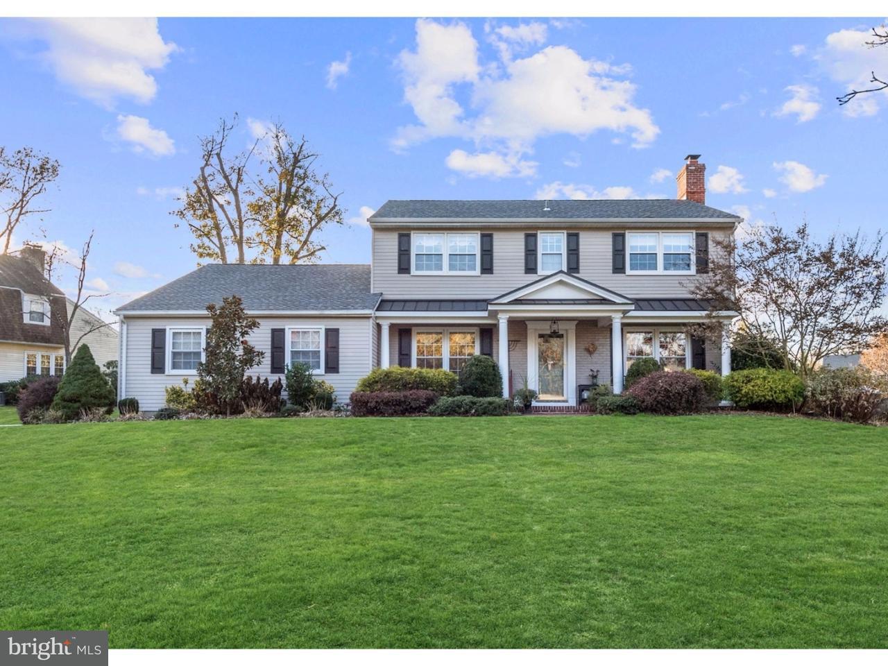 Maison unifamiliale pour l Vente à 10 CARRIAGE WAY Cinnaminson, New Jersey 08077 États-Unis