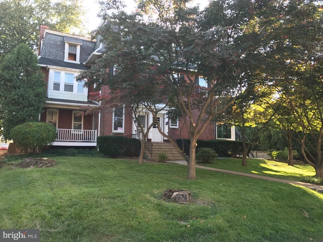 Частный односемейный дом для того Аренда на 108 MORTON AVE #1 Ridley Park, Пенсильвания 19078 Соединенные Штаты