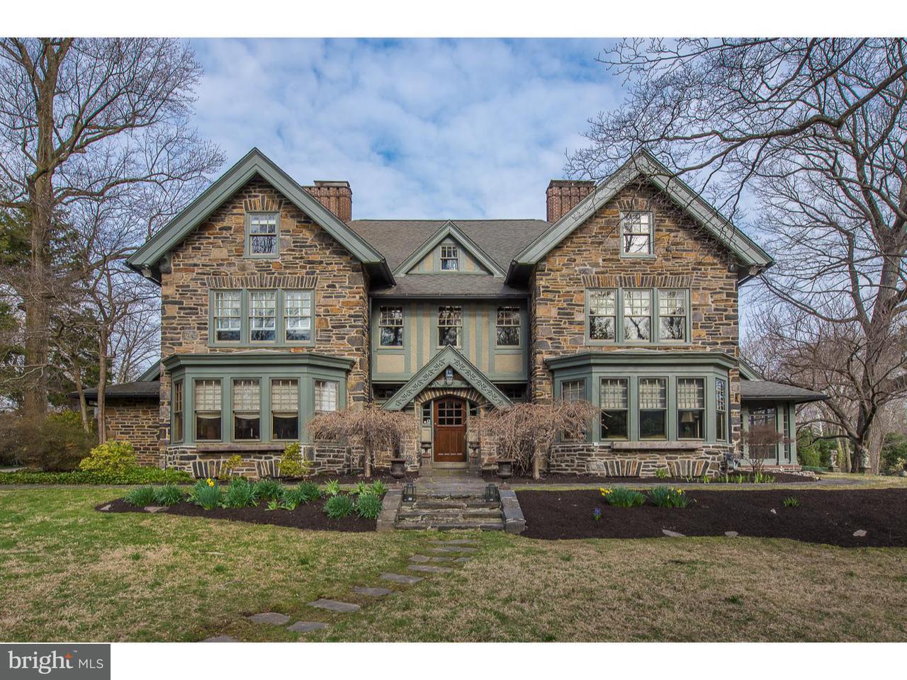 Частный односемейный дом для того Продажа на 307 CLWYD Road Bala Cynwyd, Пенсильвания 19004 Соединенные Штаты