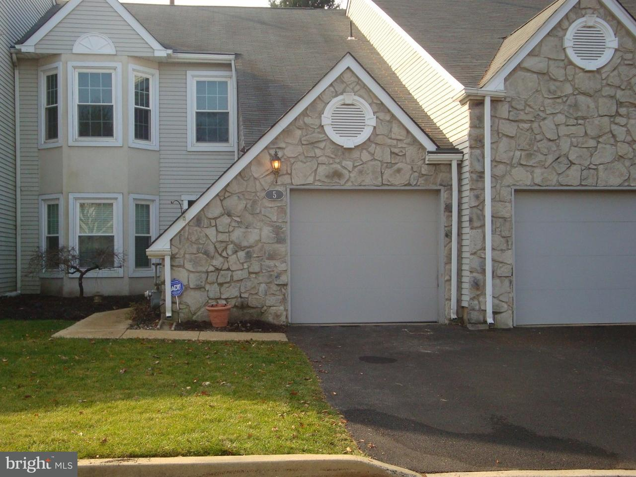 Townhouse for Rent at 5 KANON Court Newtown, Pennsylvania 18940 United States