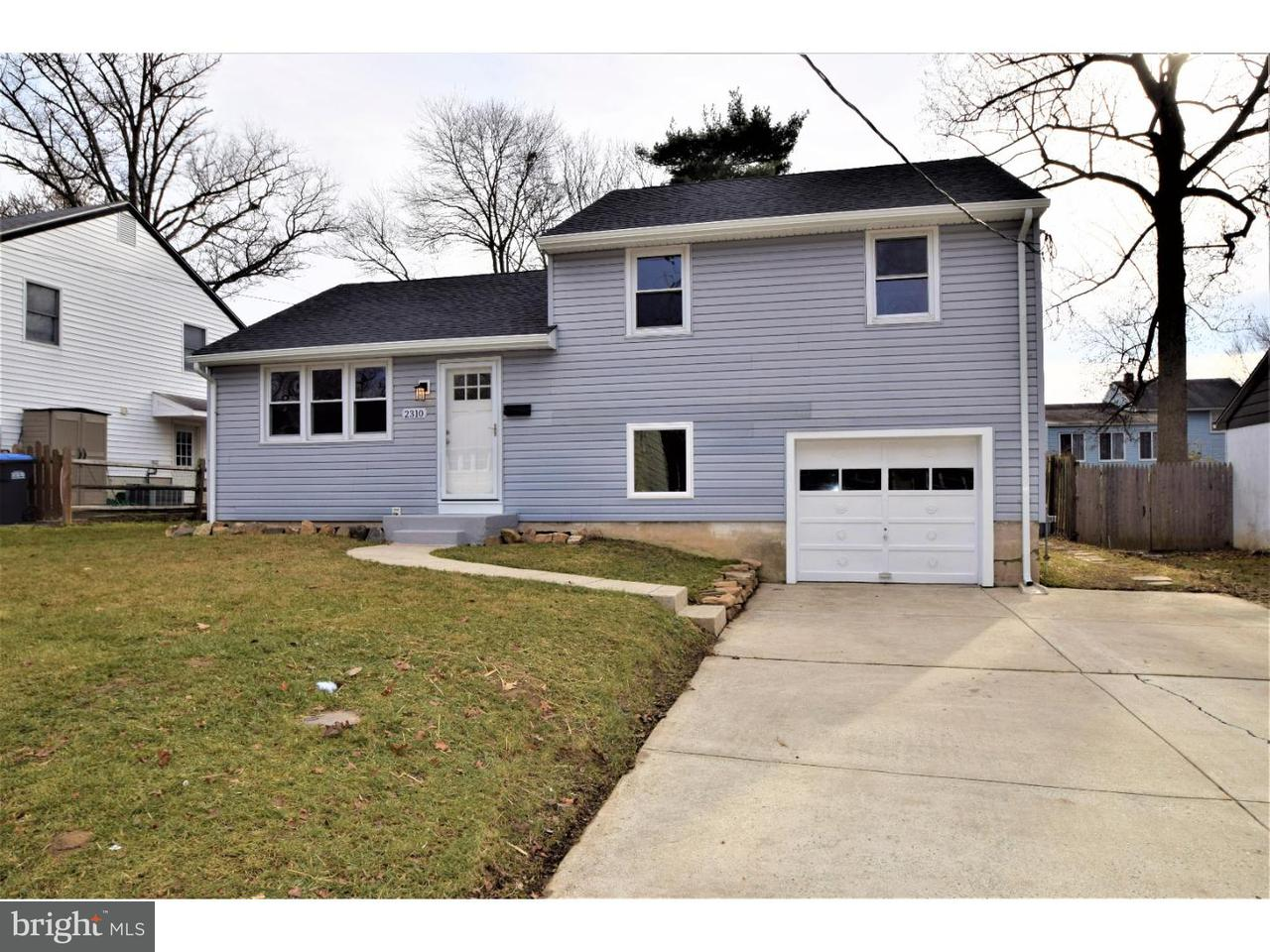 Частный односемейный дом для того Продажа на 2310 SHERMAN Avenue Wilmington, Делавэр 19804 Соединенные Штаты