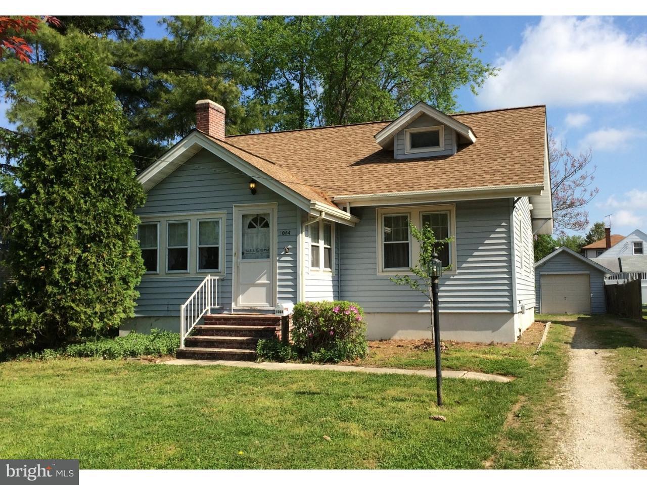 Частный односемейный дом для того Аренда на 1064 E PARK Avenue Vineland, Нью-Джерси 08360 Соединенные Штаты