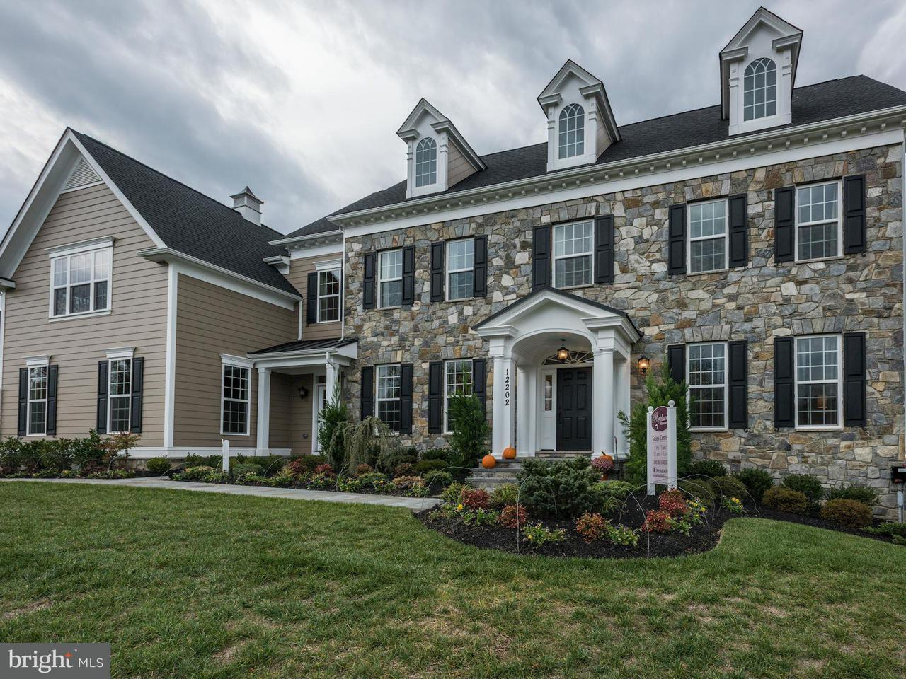 Maison unifamiliale pour l Vente à 12337 Point Ridge Drive 12337 Point Ridge Drive Fulton, Maryland 20759 États-Unis