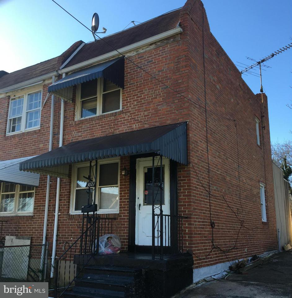 Single Family for Sale at 3021 Stafford St Baltimore, Maryland 21223 United States