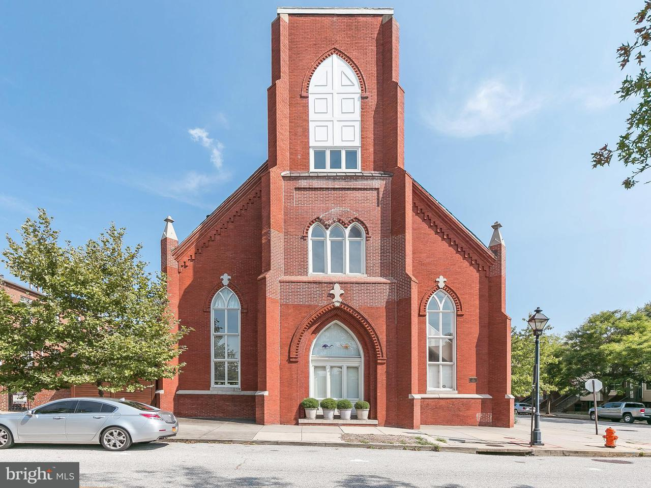 Single Family for Sale at 841 Sharp St S #2 Baltimore, Maryland 21230 United States