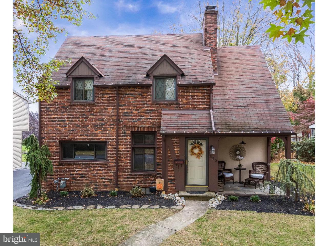 Casa Unifamiliar por un Venta en 315 JEFFERSON BLVD West Lawn, Pennsylvania 19609 Estados Unidos