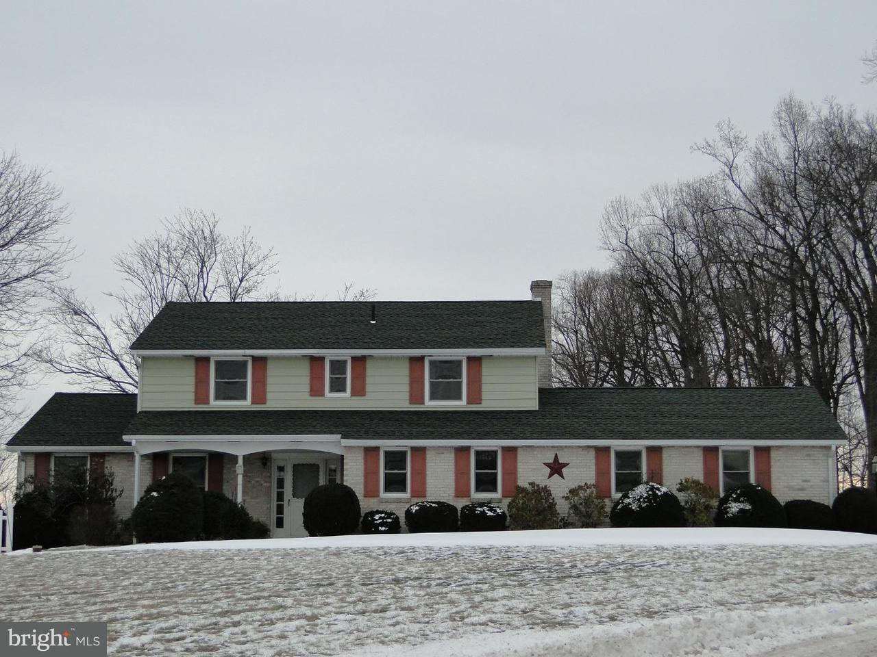 Частный односемейный дом для того Аренда на 3414 COUNTY LINE Road Quakertown, Пенсильвания 18951 Соединенные Штаты