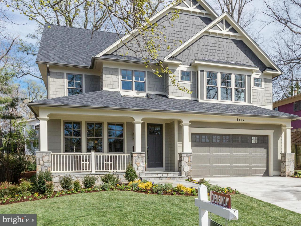 Maison unifamiliale pour l Vente à 5313 WAPAKONETA Road 5313 WAPAKONETA Road Bethesda, Maryland 20816 États-Unis