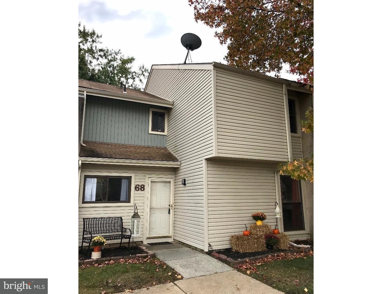 Townhouse for Sale at 68 VIBURNUM Lane Mount Laurel, New Jersey 08054 United States