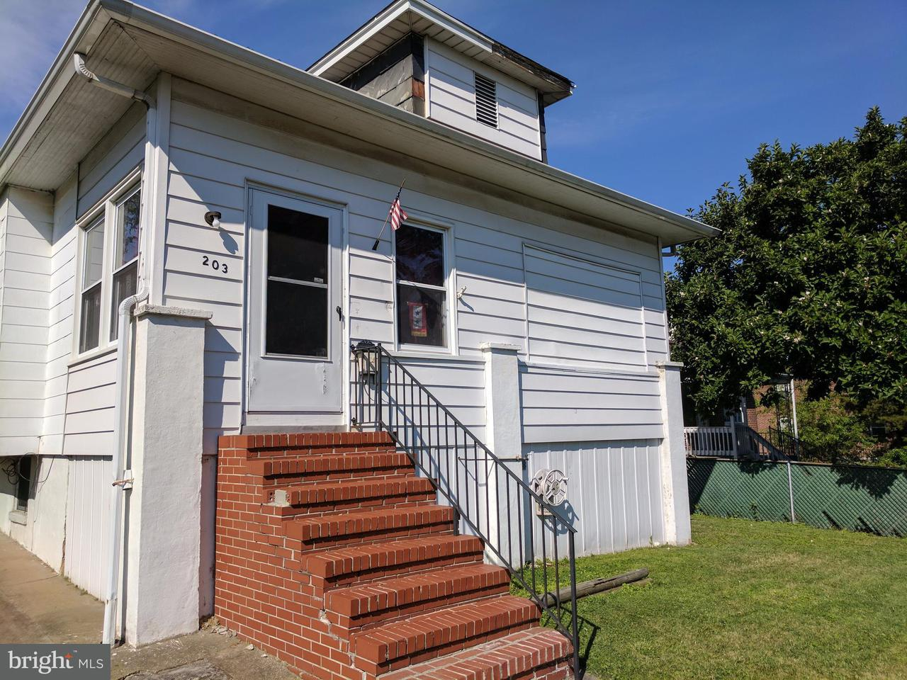 Single Family for Sale at 203 Edgevale Rd W Baltimore, Maryland 21225 United States