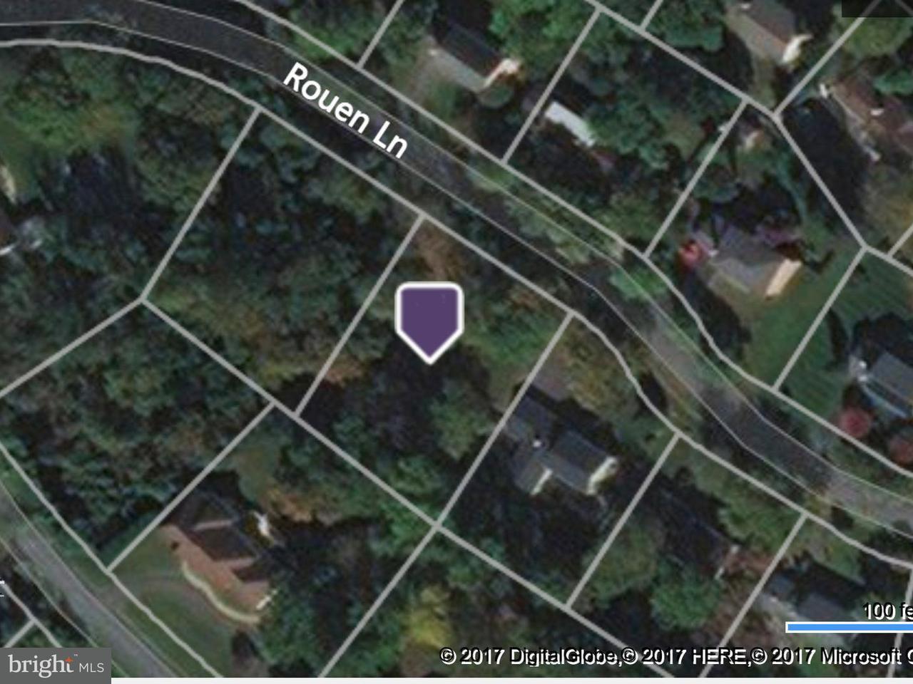 토지 용 매매 에 9100 Rouen Lane 9100 Rouen Lane Potomac, 메릴랜드 20854 미국